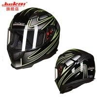 Brand new authentic JIEKAI 313 full face helmet winter warm double visor motorcycle helmet Casco Motorcycle capacete