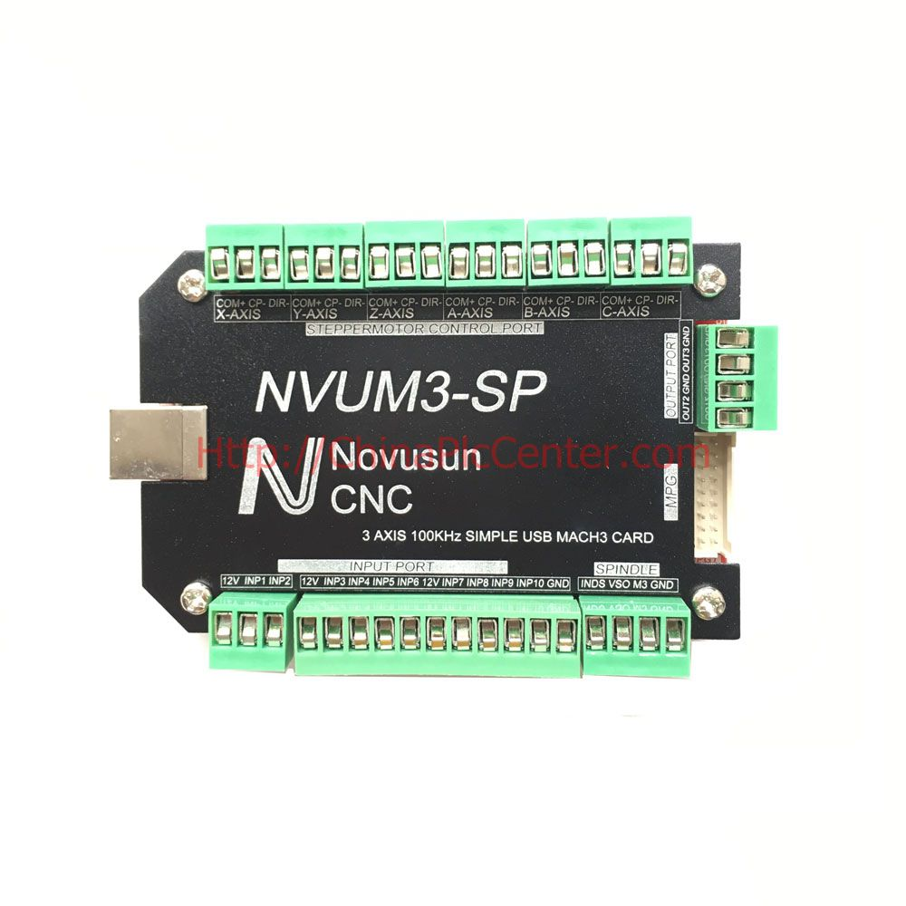 Nvum3 Sp Usb Mach3 Interface Board Card 3 Axis Cnc Controller 100khz Control Panel Wiring For Stepper Motor In From Tools On Alibaba Group