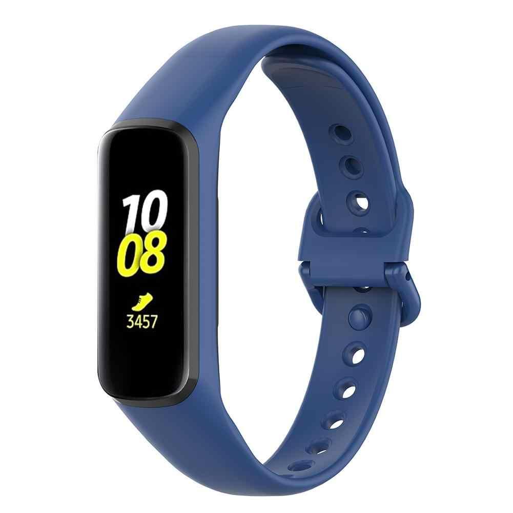 חדש סיליקון רצועת שעון יד בנד רצועת עבור Samsung Galaxy Fit-e R375 חכם צמיד שעון החלפה רצועה אבזרים