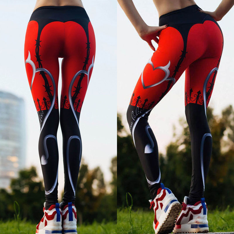 2017 New Compression Sports Leggings Fitness LADY Yoga Pants Women Sportswear For Fitness Running Bodybuilding Clothes