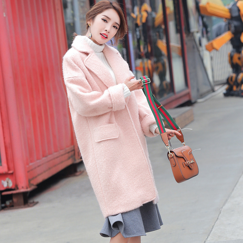 Womens Pink Coats Promotion-Shop for Promotional Womens Pink Coats ...