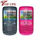 Brand nokia C3 Original unlocked nokia C3/C3-00 cell phone WIFI bar one year warranty