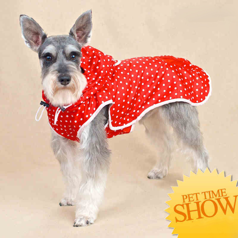 Clothing For Small Dogs hoodie jacket raincoat impermeable Clouth For Petcircle Dog Wate ...