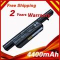 Bateria do portátil para Clevo C4500BAT-6 C4500Q C4500 C4500BAT 6 C4500BAT6 B4100M B4105 B7110 B7130 C4100 C5100Q C5105 C5500Q W150