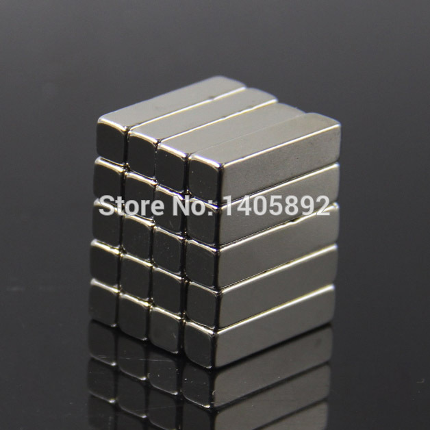 20pcs Super Powerful Strong Rare Earth Block NdFeB Magnet Neodymium N35 Magnets F20*5*5mm- Free Shipping free shipping sop32 wide body test seat ots 32 1 27 16 soic32 burn block programming block adapter