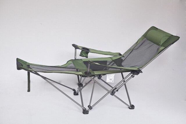 Portable Folding Reclining Chair Beach Chairs Outdoor Fishing