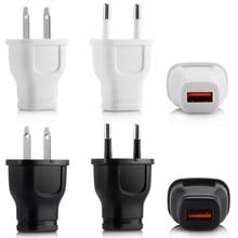 UVR EU US Plug USB Wall Charger Travel Home Wall AC Charger