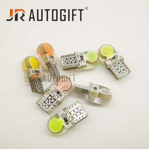 10 шт., светодиодный светильник для номерного знака, 24 В, 12 В, T10, белый, 194 W5W, светодиодный, 168 COB, красный, синий, зеленый, желтый, розовый