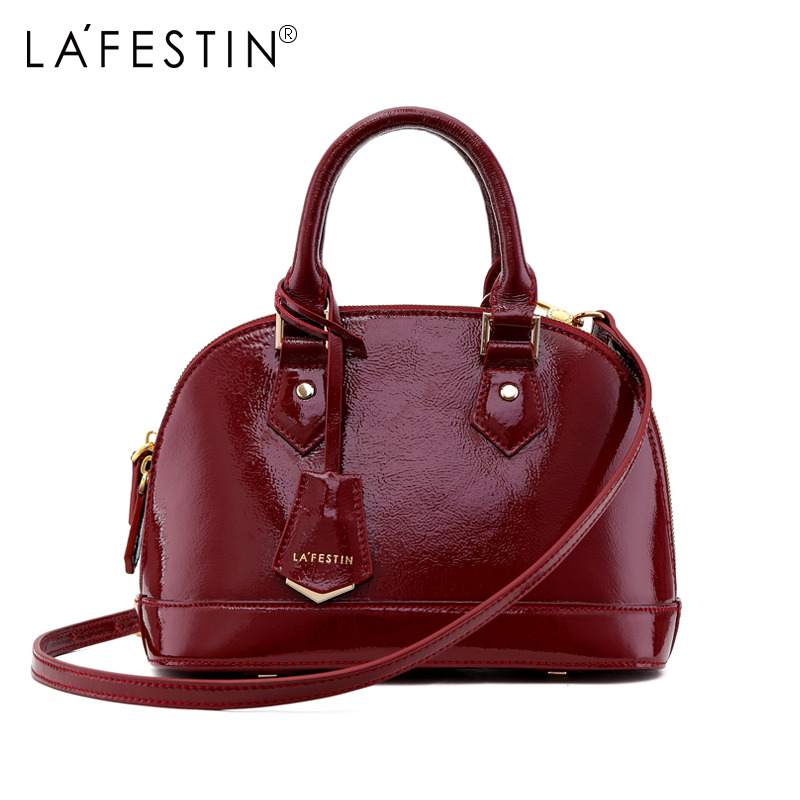 LAFESTIN Women Shoulder Bag Luxury Designer Shoulder Crossbody Bag Famous Shell Tote Handbag Bags Multifunction Bag brands bolsa цена