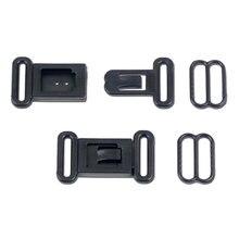 479c9e142 50 100 Sets 12.5mm Fita Ajustável Acessórios de Hardware Fivela de Plástico  Conjunto Arco Prendedor de Gravata Fecho Do Sutiã Fe.