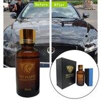 2019 новое жидкое автомобильное стекло 9H нано гидрофобное керамическое покрытие полировка автомобиля против царапин Авто Новинка