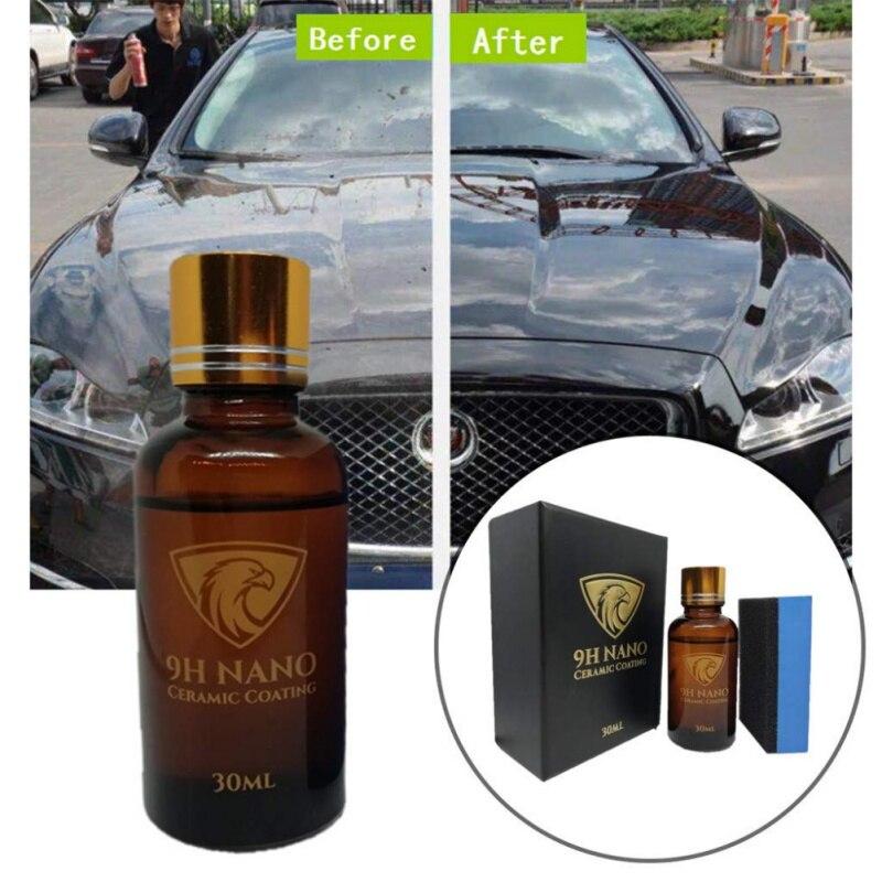 2019 New Liquid Car Glass 9H Nano Hydrophobic Ceramic Coating Car Polish Anti-scratch Auto New