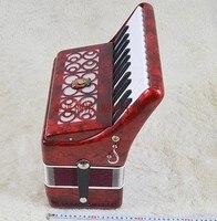 Instrumentos Musicais Sanfona Muziekinstrumenten Venda Diatônica 25 Akordeon Acordeon Acordeão Papagaio Marca 16 Novo Baixo 16bs 16b