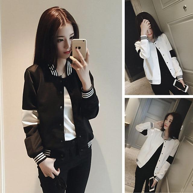 Aliexpress.com : Buy Women Bomber Jacket 2017 Spring New Korean ...