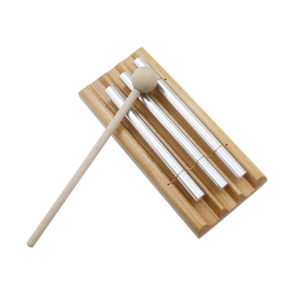 Três Tom Sino Sinos de Vento Batendo Xilofone de Piano com Vara Instrumento de Percussão Para Crianças Crianças Dom Brinquedos Musical