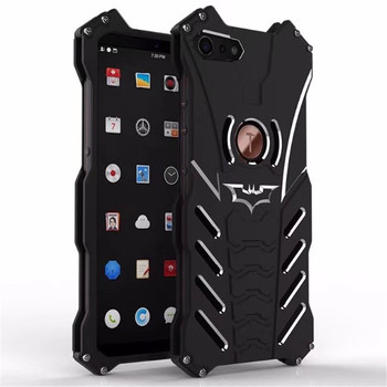 R-JUST Aluminum Metal Phone Case For Smartisan Nut Pro 2 Batman Heavy Dust Armor Protective Coque For Smartisan Pro2 Back Cover image
