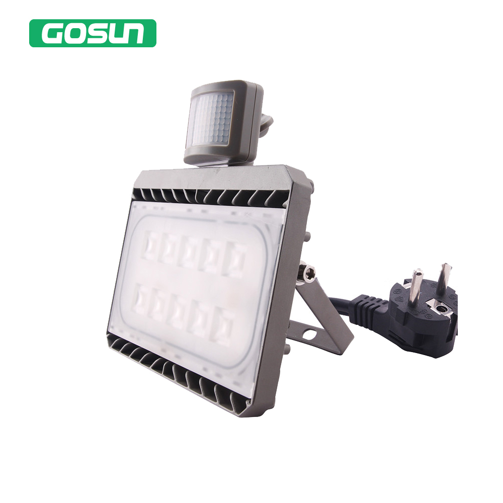 Led Flood Light Motion Sensor 50W 30W 220V 110V Waterproof IP65 PIR Garden Spotlight Outdoor Lighting Led Sensor Reflector Lamp refletor led sensor light flood projecteur focos led 220v exterior outdoor lighting reflector 50w pir motion outdoor spotlight