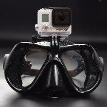 Профессиональный Подводный Бокс Камеры Дайвинг Маска Подводное Плавание Плавание Очки для GoPro Xiaomi SJCAM Спорт Камеры Бесплатная Доставка
