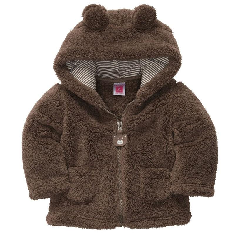 Kids Cartoon Outerwear Children Winter Jacket Baby Coat Cotton Boys Girls Zipper Thickened Warm Clothes 0-2T (Clearance A010)