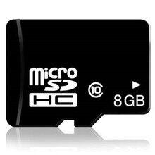 Fabrika fiyatı!!! 8 GB Micro SD SDHC Kart C10 TF Kart Mikro TF Kart Mikro Hafıza Kartı Cep Telefonları