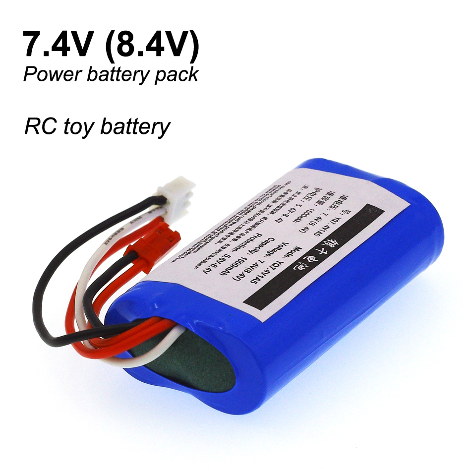 7.2 V/8.4V/7.4V 1500mah model plane Helicopter high discharge 10-15 c type power 18650 lithium batteries free shipping