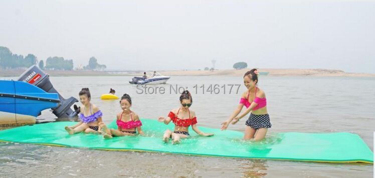 Swimming Green Water Floating On Water Floating Bed Pad Running M Water Bed Floating Dock Fishing