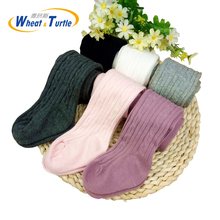 Infant Soft Cotton Baby Girl Tights Newborn Casual Solid Warm Kid Dancing Pantyhose Stockings