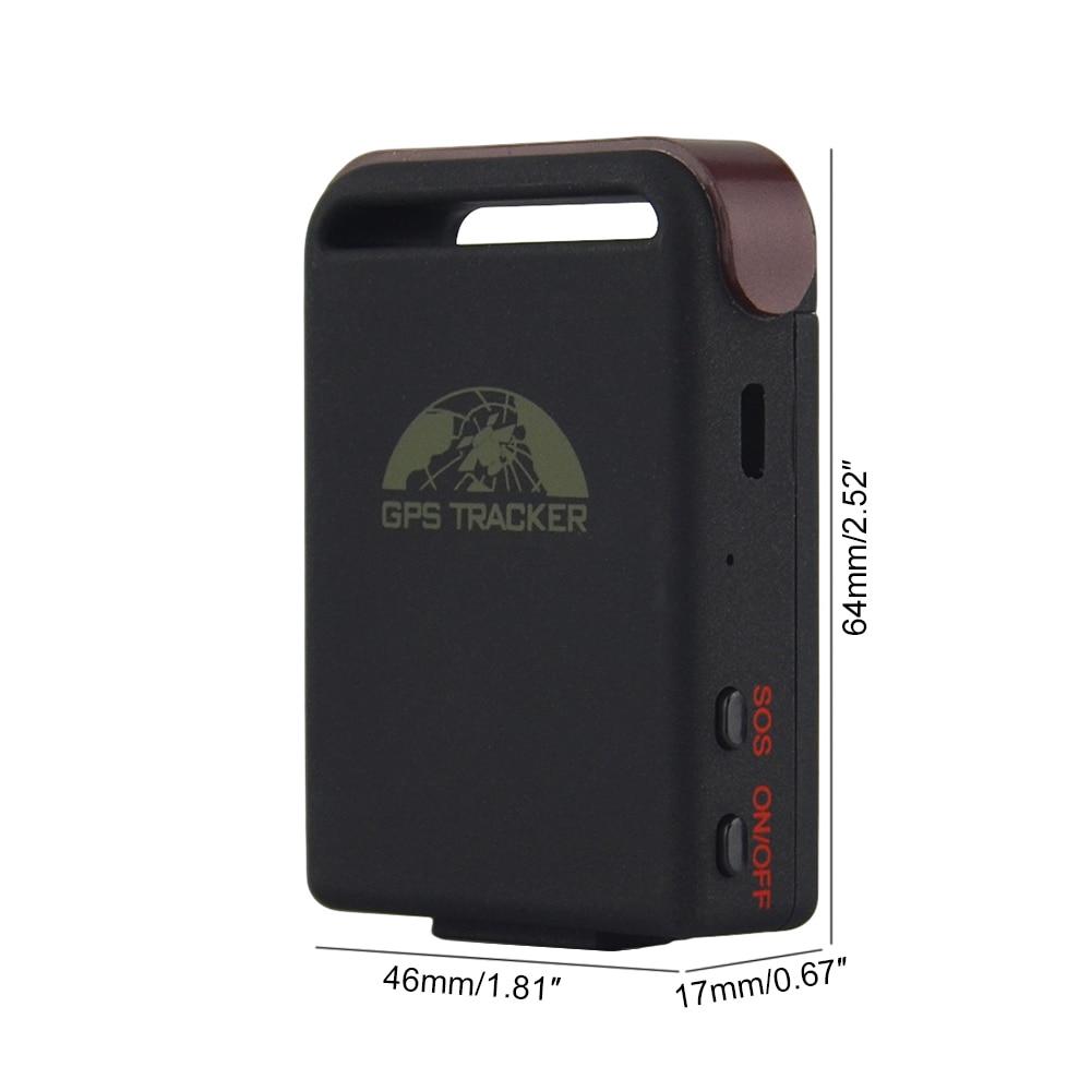 GPS//GSM//GPRS vehicle Tracker GPS102B TK102B Movement alert Data Logging,No Box