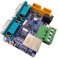 STM32F103C8T ENC28J60 Ethernet Плата развития сети к двойному последовательному порту/485/232/CAN