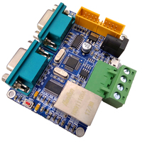 STM32F103C8T ENC28J60 Ethernet Development Board Network to Dual Serial Port /485/232/CAN