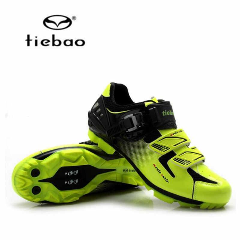 TIEBAO radfahren schuhe hinzufügen SPD pedal set sapatilha ciclismo mtb männer frauen atmungsaktive superstar original fahrrad racing bike schuhe