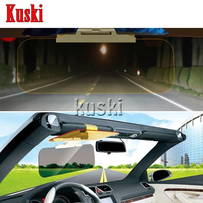 1X Car Sun Visor Anti-Glare Goggle For Toyota Corolla Avensis RAV4 Yaris Auris Hilux Prius verso For Buick Excelle Encore