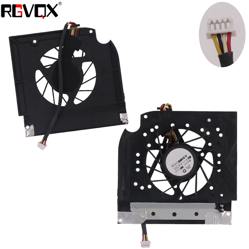 Купить с кэшбэком New Laptop Cooling Fan for HP Pavilion DV9000 ~DV9600 Series PN: KSB05605HB KSB0605HB DFB552005M30T CPU Cooler Radiator