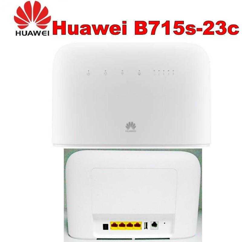 Routeur 4G, 4G + LTE, 3G HUAWEI B715 débloqué