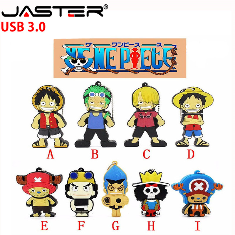 JASTER  The New Cat  USB One Piece USB 3.0 Pen Drive Minions Memory Stick Pendrive 4GB 8GB 16GB 32GB 64GB Gift
