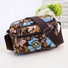 25 Colors Available Women Crossbody Bags 2018 Woman Nylon Messenger Bag Casual Mother Package Canvas Bag Bolsas Femininas