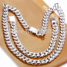 Joyería de la manera, 925 plata esterlina Necklace & bracelet, Brand New S199-20