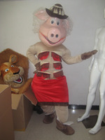 mascot pig Mascot Costume Carnival Party Cosply Fancy Dress Free Ship