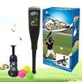 Бесплатная Доставка Мини бейсбол костюм дети творческий родитель-ребенок необычные бал игрушка упражнения на открытом воздухе Бейсбольной Битой Игрушки Подарок На День Рождения