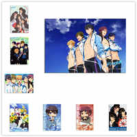 FREE! IWatobi Swim Club Poster Wall Sticker Home Bedroom Decor Room Decoration Accessories For Kids Rooms