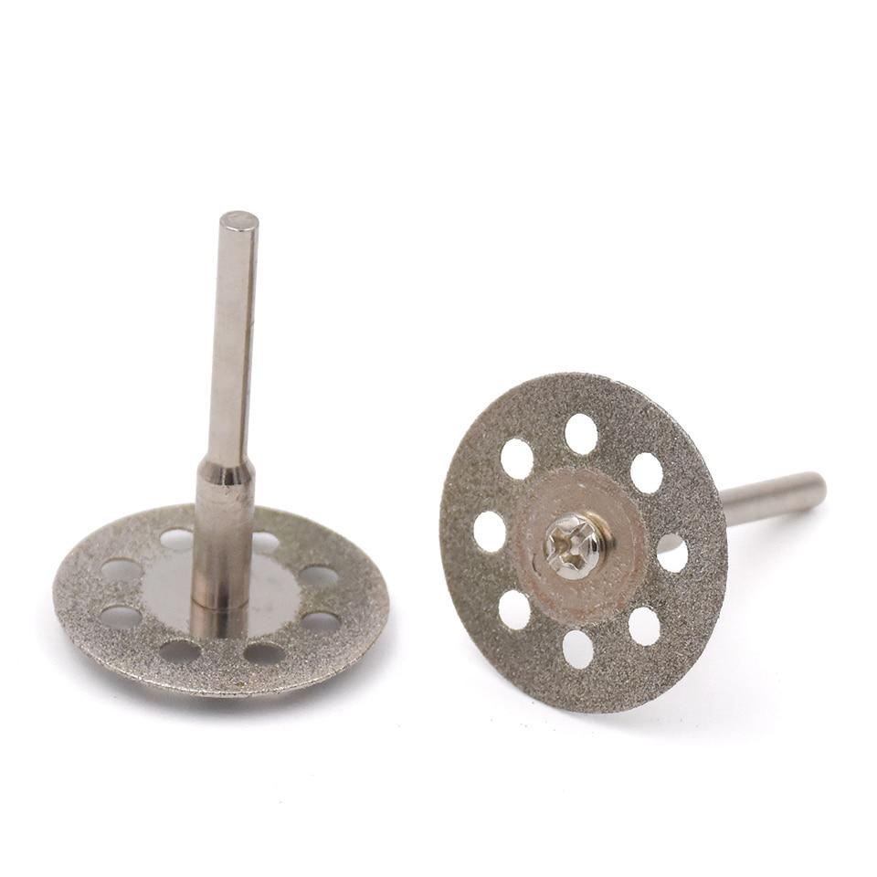 Disco da taglio diamantato 10pc 30mm per accessori per utensili - Lama per sega - Fotografia 2