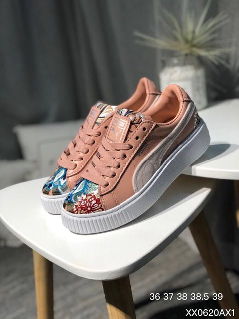 296380a2f277 PUMA Women s Fenty x Cracked Creeper Sneakers Badminton Shoes size35.5-39
