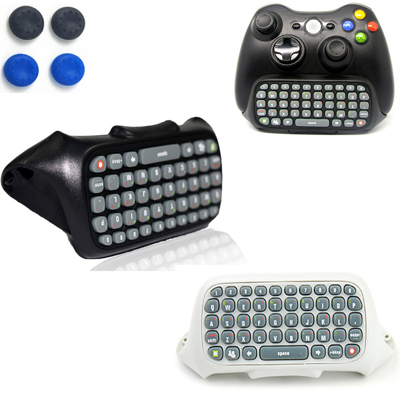 все цены на Wireless Mini Live Text Messenger Chatpad Keypad Adapter Keyboard for Xbox 360 GamePad Game Gaming Controller Travel Portable