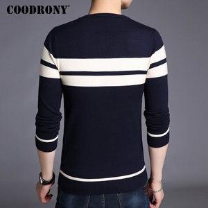 Image 4 - COODRONY Mens סרוג קשמיר צמר סוודרים 2020 סתיו החורף חדש סוודר גברים מזדמן O צוואר גברים למשוך Homme 217