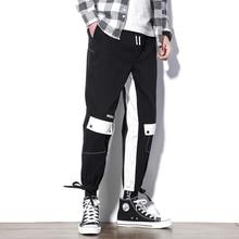 M-5XL 2019 Spring Track Pants Men Sweatpants Mens Joggers Pants Cargo Camo Tactical Harem Zipper Pants Men цена 2017