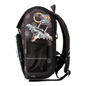 Image 4 - Wzór samolotu szkolny plecak dla chłopców Cartoon tornister dla dzieci plecaki ortopedyczne podstawowy Mochila Infantil klasa 1 3