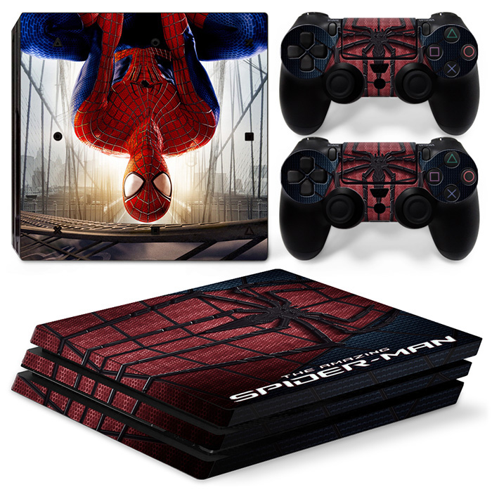 Vinyl Skin Sticker for PS4 PRO Console and controller