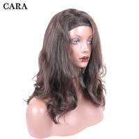 Unprocessed Hair Jewish Wig Slight Wave Kosher Wigs Customized Made European Virgin Hair Sports Bandfall Wig Free Shipping CARA
