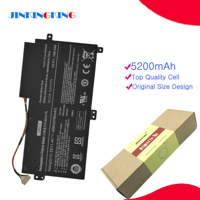 11.4V Laptop Battery For Samsung AA-PBVN3AB Np470 NP51OR5E NP510R5E Ba43-00358a NP370R4E Np510 NP370R5E 1588-3366 Np450r5e