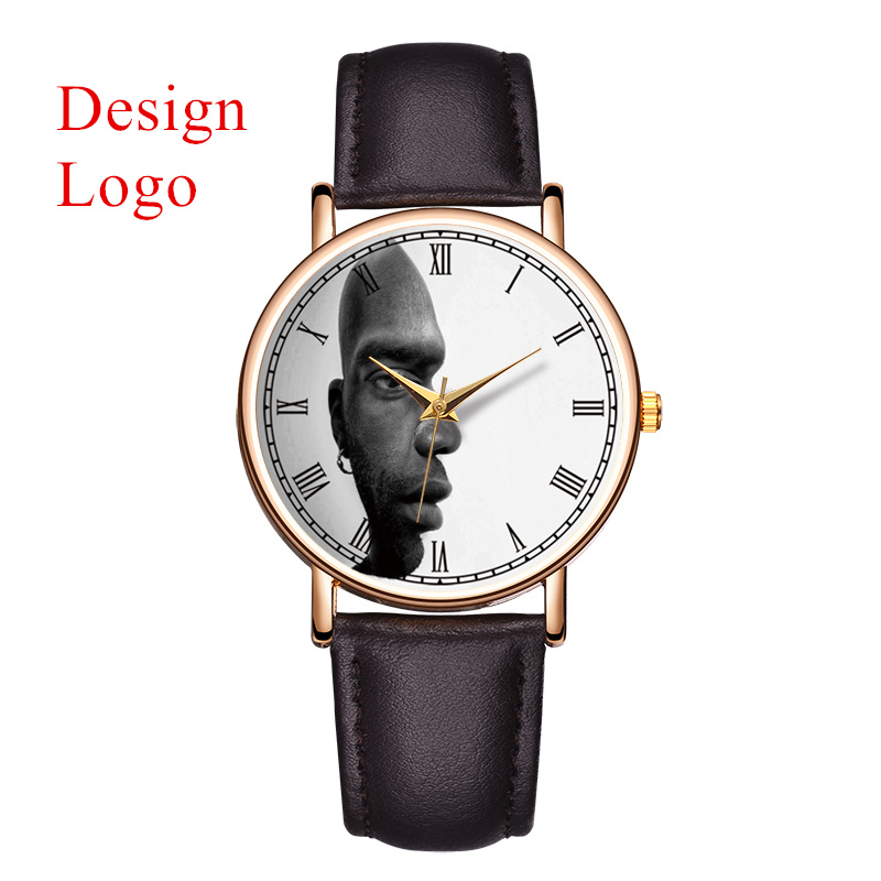 B 9211 MOQ 50pcs Brand Name Engraved in Wrist Watch OEM ...
